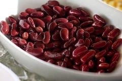 Nourriture de haricot rouge Photographie stock