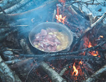 Nourriture de hausse d'hiver photos stock