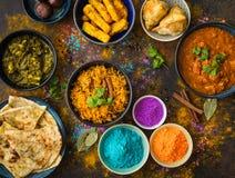 Nourriture de Holi d'Indien photo libre de droits
