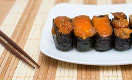 Nourriture de Japonais de sushi Photos stock