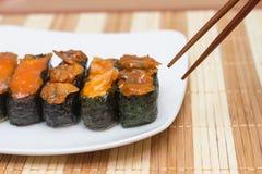 Nourriture de Japonais de sushi Photo stock