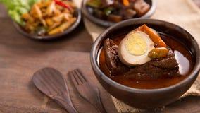 Nourriture de javanese de Brongkos photos stock