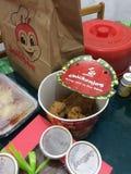 Nourriture de Jolibee Image stock