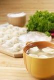 Nourriture de l'Asie de soupe à Wonton Image stock