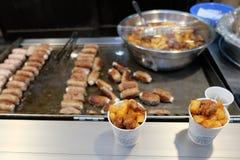 Nourriture de la Corée Photos libres de droits