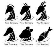 Nourriture de logo illustration stock