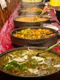 Nourriture de marché en plein air Photo stock