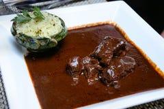 Nourriture de Mexicain de taupe Images stock
