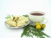 Nourriture de Noël Photo stock