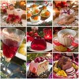 Nourriture de Noël Images libres de droits