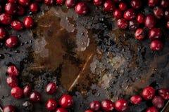Nourriture de Noël Ingrédients pour faire cuire la cuisson de Noël images libres de droits