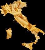 Nourriture de pâtes de l'Italie illustration de vecteur
