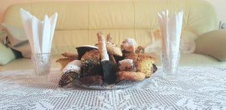 Nourriture de pâtisseries Photos libres de droits