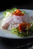 Nourriture de Péruviens de Ceviche Image libre de droits