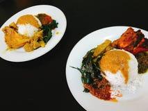 Nourriture de Padang image libre de droits