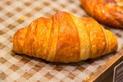 Nourriture de petit déjeuner de croissants photo stock