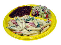 Nourriture de pique-nique Photo libre de droits
