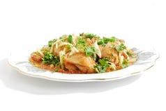 Nourriture de poulet Photo stock