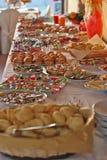 Nourriture de réception Images libres de droits