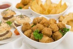 Nourriture de réception Images stock