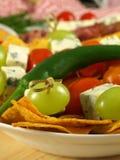 Nourriture de réception Image stock