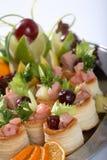 Nourriture de réception Photo libre de droits