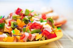 Nourriture de réception Photo stock