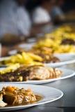 Nourriture de restauration Images libres de droits
