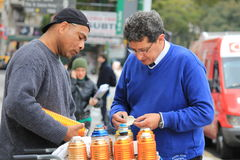 Nourriture de rue à Buenos Aires, Argentine images stock