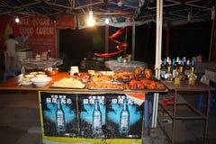 Nourriture de rue en Chine Images libres de droits