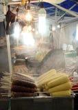 Nourriture de rue en Corée du Sud Photographie stock libre de droits
