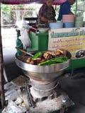 Nourriture de rue en Thaïlande Photo libre de droits