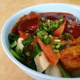 Nourriture de Singapour Photographie stock