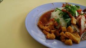 Nourriture de Singapour Photographie stock libre de droits