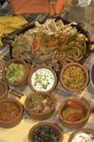 Nourriture de TexMex Image libre de droits
