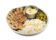 Nourriture de Thali photographie stock libre de droits