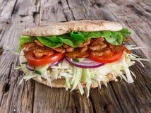 Nourriture de turc de Doner Kebab images stock