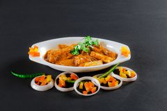 Nourriture de Veg d'Indien photographie stock