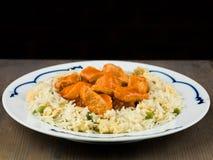 Nourriture douce et aigre de Chinois de poulet image stock