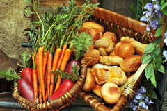Nourriture du marché Image libre de droits