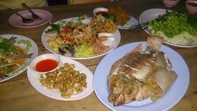 Nourriture du nord-est populaire photographie stock