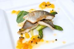 Nourriture du restaurant Photo libre de droits