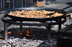 Nourriture espagnole traditionnelle Photo libre de droits