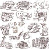 Nourriture et boisson illustration de vecteur