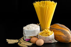 Nourriture et ingrédients Image stock