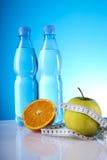 Nourriture et régime de santé Photographie stock