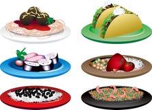 Nourriture ethnique Image libre de droits