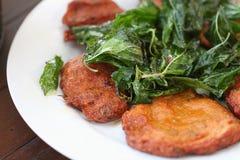Nourriture faite à partir de la crevette Photos libres de droits
