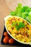 nourriture faite maison de macaronis au fromage photographie stock