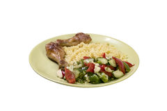 Nourriture faite maison du plat Photo stock